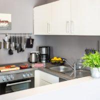 Ferienwohnung in Rastede Küche
