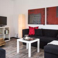Ferienwohnung in Rastede Wohnzimmer